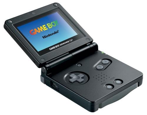Game Boy Advance Sp : Console game boy advance sp noire ga occasion