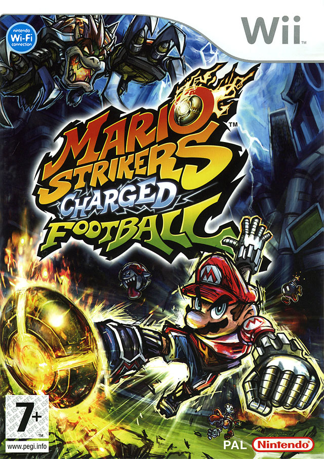 Mario strikers charged football wii jeux occasion pas cher gamecash