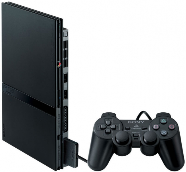 Playstation 2 Slim Console Console ps2 slim ( ps two)