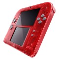 Console Nintendo 2DS Rouge Transparent d'occasion (3DS)
