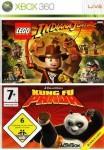 Kung Fu Panda / Lego Indiana Jones d'occasion (Xbox 360)