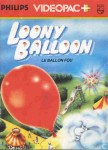 Loony Balloon Videopac N°54  d'occasion sur Philips Videopac
