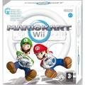 Mario Kart Wii et Volant en boîte  d'occasion (Wii)