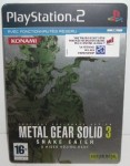 Metal Gear Solid 3 : Snake Eater - Edition Steelbook d'occasion (Playstation 2)