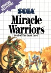 Miracle Warriors: Seal of the Dark Lord en boîte d'occasion sur Master System