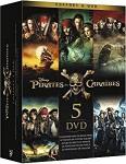 Pirates des Caraïbes - Coffret 5 films  d'occasion (DVD)
