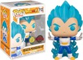 POP Dragon Ball Z - Vegeta Powering Up - 713 Glows in the Dark Special Edition d'occasion (Figurine)