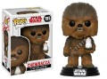 POP STAR WARS CHEWBACCA 195 d'occasion (Figurine)