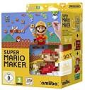 Super Mario Maker avec Amiibo Super Mario Bros - Édition Limitée en boîte sous blister d'occasion (Wii U)