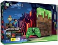 Console Xbox One S (1 To) Édition Limitée Minecraft en boîte d'occasion (Xbox One)