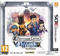 Professeur Layton vs Phoenix Wright : Ace Attorney sous blister - 3DS