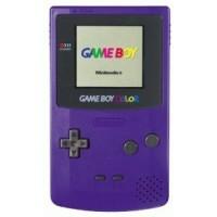 console game boy color violet gb console occasion pas. Black Bedroom Furniture Sets. Home Design Ideas