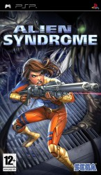 Alien syndrome - Playstation Portable