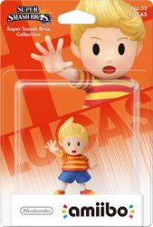 Amiibo Super Smash Bros - Lucas - Wii U