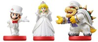 Amiibo Super Mario Odyssey - Pack Mario - Peach - Bowser  - Switch