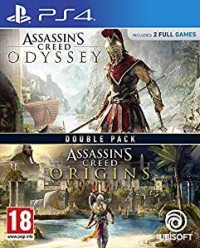 Assassin's Creed Odyssey et Assassin's Creed Origins  - Playstation 4