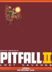 Pitfall II Lost Caverns - Atari 2600