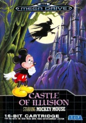 Castle of Illusion Starring Mickey Mouse en boîte - Megadrive