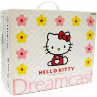 Console Dreamcast Hello Kitty (import japonais) en boîte  - Dreamcast