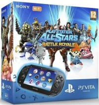 Console PS Vita 1000 WiFi (4 Go) + Playstation All Stars Battle Royale - Playstation Vita