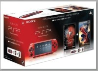 Console Slim & Lite Rouge Edition Spider Man - Playstation Portable