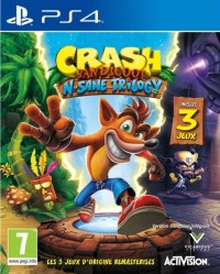 Crash Bandicoot : N'Sane Trilogy - Playstation 4