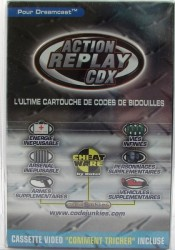 Action Replay CDX en boîte  - Dreamcast