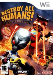 Destroy All Humans : Lâchez le Gros Willy! sous blister - Wii