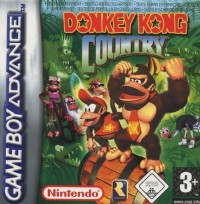Donkey Kong Country en boîte - Game Boy Advance