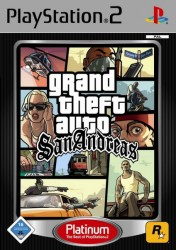 Grand Theft Auto : San Andreas - Platinum - Playstation 2