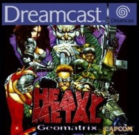 Heavy Metal Geomatrix sous blister d'origine - Dreamcast