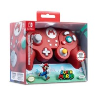 Manette filaire Super Smash Bros - Mario en boîte  - Switch