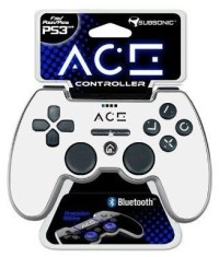 Manette Subsonic ACE Blanche  - Playstation 3