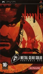 Metal Gear Solid : Portable Ops sous blister - Playstation Portable