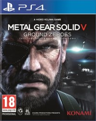 Metal Gear Solid V : Ground Zeroes - Playstation 4