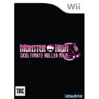 Monster high skultimate roller maze wii jeux - Jeux monster high roller ...