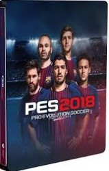 PES 2018 Steelbook  - Playstation 4