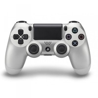 Manette Dualshock 4 V2 Argent  - Playstation 4