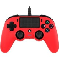Manette Filaire Nacon Rouge - Playstation 4