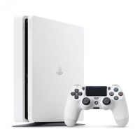 Console Playstation 4 Slim (1 To) Blanche - Playstation 4