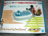 Rumble Fighting Stick Dragon Cast en boîte  - Dreamcast