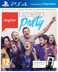 Singstar Ultimate Party et 2 Micros - Playstation 4