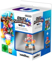 Super Smash Bros. for Wii U + Amiibo Mario - Wii U