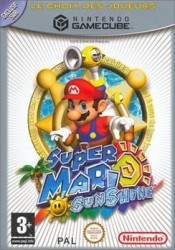 Super Mario Sunshine - Player's Choice - GameCube