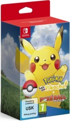 Pokémon: Let's Go, Pikachu! et PokéBall Plus en boîte  - Switch