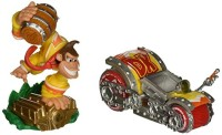 Figurines Skylanders : Superchargers - Turbo Charge Donkey Kong et Barrel Blaster - Playstation 3