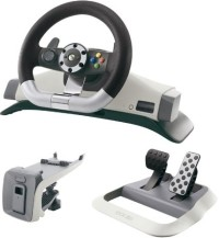 Volant Racing Officiel Sans Fil - Xbox 360