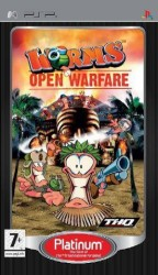 Worms: Open Warfare Platinum  - Playstation Portable