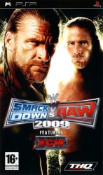 Wwe smackdown vs raw 2009 - Playstation Portable