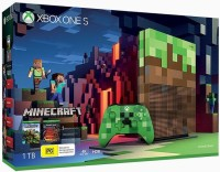 Console Xbox One S (1 To) Édition Limitée Minecraft en boîte - Xbox One